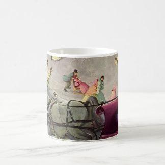 Vintage Christmas, Love and Romance Coffee Mug
