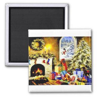Vintage Christmas Magnet