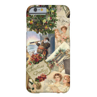 Vintage Christmas Mix Barely There iPhone 6 Case
