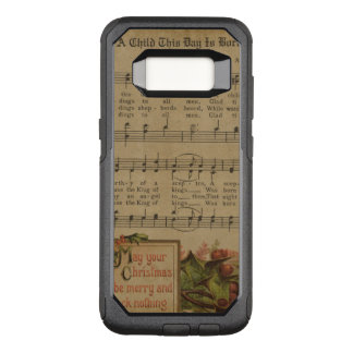 Vintage Christmas Music Sheet Holiday OtterBox Commuter Samsung Galaxy S8 Case