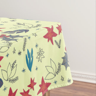 Vintage Christmas pattern - Xmas gifts Tablecloth