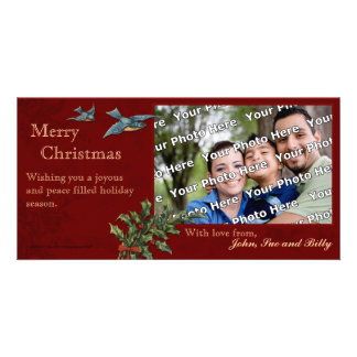 Vintage Christmas Photocard Picture Card