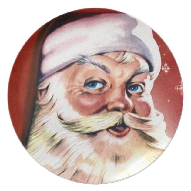 Vintage Christmas Plate Zazzle Com Au