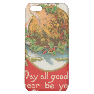 Vintage Christmas Pudding iPhone 5C Case