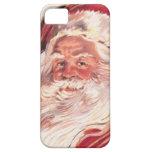 Vintage Christmas Santa Claus iPhone 5 Cases