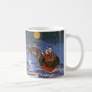 Vintage Christmas, Santa Claus Coffee Mug