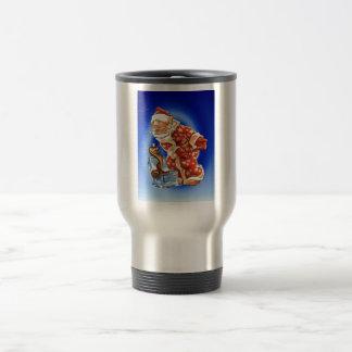 Vintage Christmas Santa s magic friend Coffee Mugs