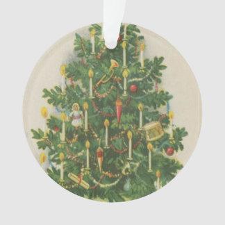 Vintage Christmas Tree Greetings