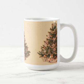 Vintage Christmas Tree Coffee Mugs