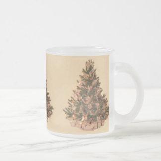 Vintage Christmas Tree Mug
