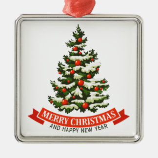 Vintage Christmas Tree Ornament