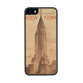 Vintage Chrysler Building in New York