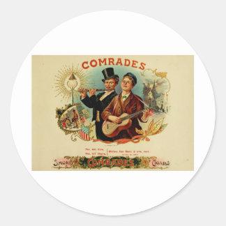 Vintage Cigar Box Label   Comrades   (L10)