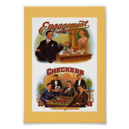Vintage Cigar Boxes Posters