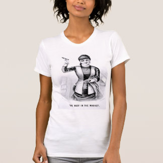 Vintage Cigar Girl T-Shirt