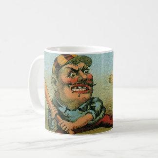 Vintage Cigar Label, Sports Baseball Tansill Punch Coffee Mug