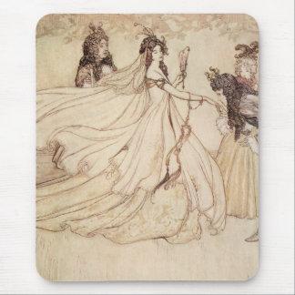 Vintage Cinderella (Ashenputtel) by Arthur Rackham Mouse Pads