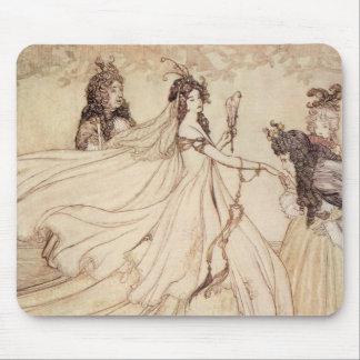Vintage Cinderella (Ashenputtel) by Arthur Rackham Mouse Pad