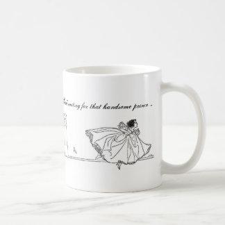 Vintage Cinderella Still Waiting Mug