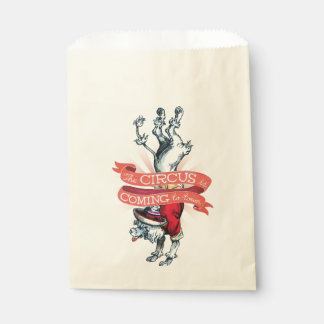 Vintage Circus Paper Favor Bags (50)
