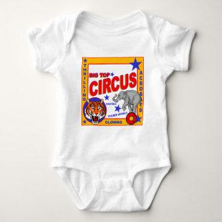 Vintage Circus Poster Baby Bodysuit