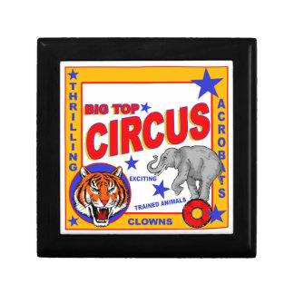 Vintage Circus Poster Gift Box