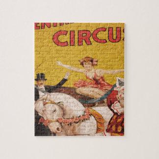Vintage Circus Puzzle