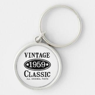 Vintage Classic 1959 Jewelry Key Ring