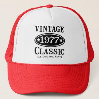 Vintage Classic 1977 Trucker Hat