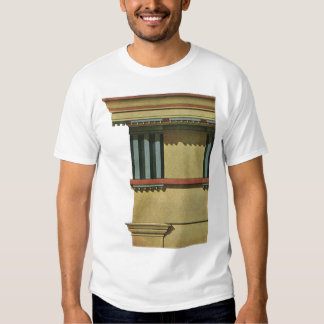 Vintage Classic Architecture, Temple Entablature Tee Shirt
