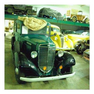 Vintage Classic Car 1 Art Photo