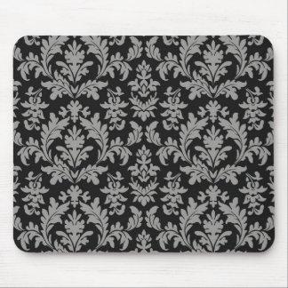 vintage classic fleur des lis wallpaper design mouse pad