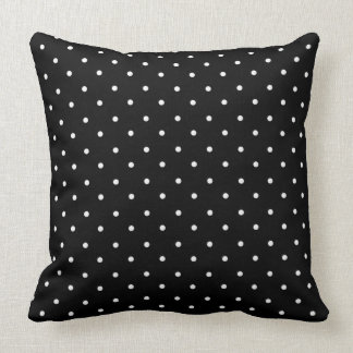 Vintage-Classic-Indoor-Outdoor-Black-White-Dots Cushion