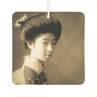 Vintage Classic Japanese Beauty Geisha 芸者 Japan Car Air Freshener