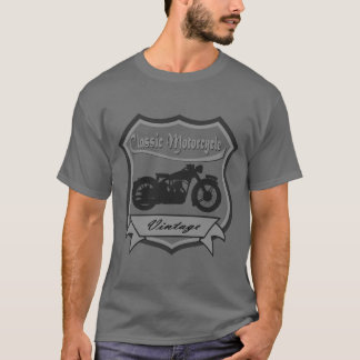 Vintage Classic Motorcycle T-Shirt