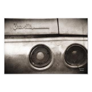 Vintage Classic Muscle Car Photograph Print
