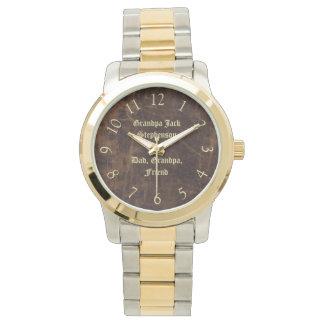 Vintage Classic Personalized Keepsake Men's Watch