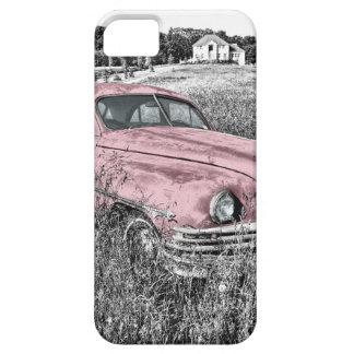 Vintage Classic Pink Car iPhone 5 Case
