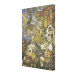 Vintage Classic Storybook Characters, Edmund Dulac Gallery Wrapped Canvas