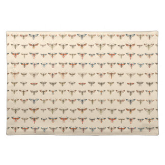 Vintage Clearwing Moths Place Mats