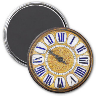 Vintage Clock Antique Pocket Watch 7.5 Cm Round Magnet