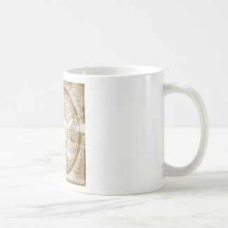Vintage Clock Coffee Mug