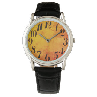 Vintage_Clock-face_Retro_Modern_Multi-Styles Watch