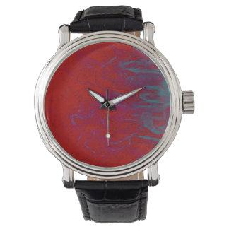 Vintage clock man wrist watches