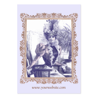 Vintage Clothing Boutique, Costume Designer Business Card Templates