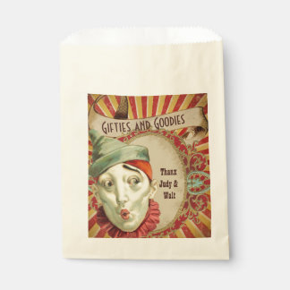 Vintage Clown for Circus Theme Favour Bag