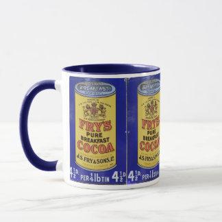Vintage Cocoa Ad Hot Chocolate Mug