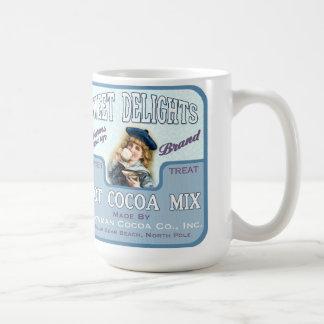 Vintage Cocoa Chocolate Label Coffee or Tea Mug