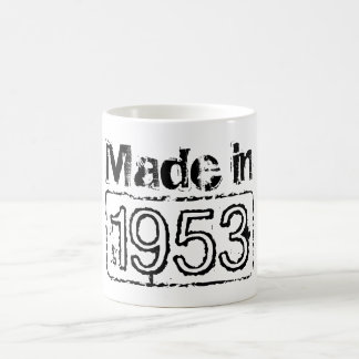 Vintage coffee mug with custom birth year | 1953