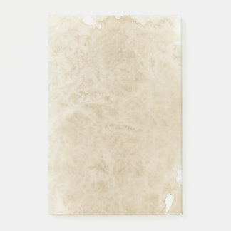 Vintage Coffee Stained Paper Post-it Notes